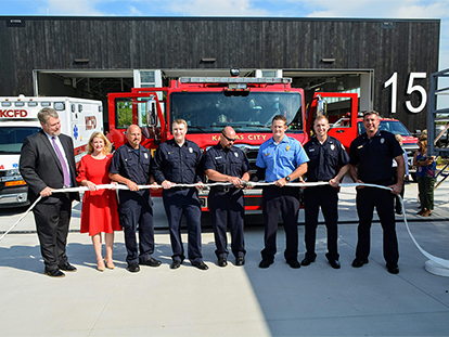 Northland Fire Station 15 open and ready for duty
