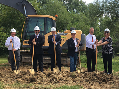 KCMO breaks ground on N. Brighton Improvements