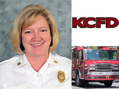 KCFD Fire Chief Donna Maize
