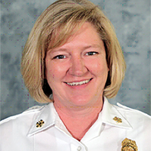 Fire Chief Donna Maize