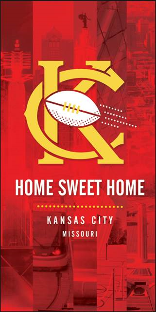 home sweet home banner red