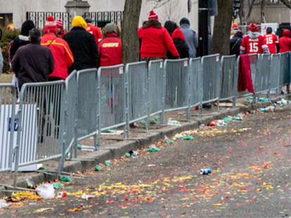 Chiefs Kingdom Champions Parade aftermath