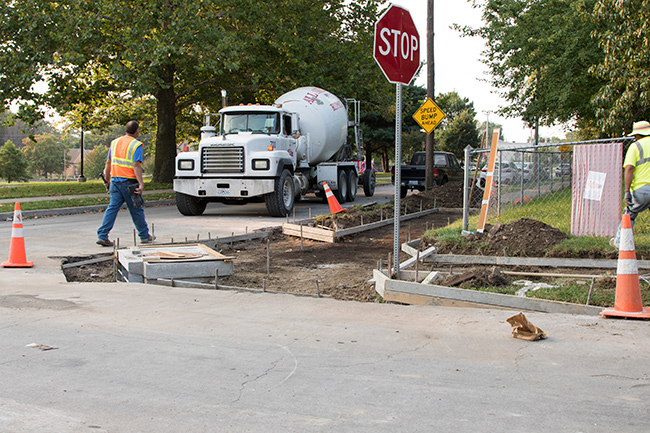 GO KC Sidewalk Projects Under Construction