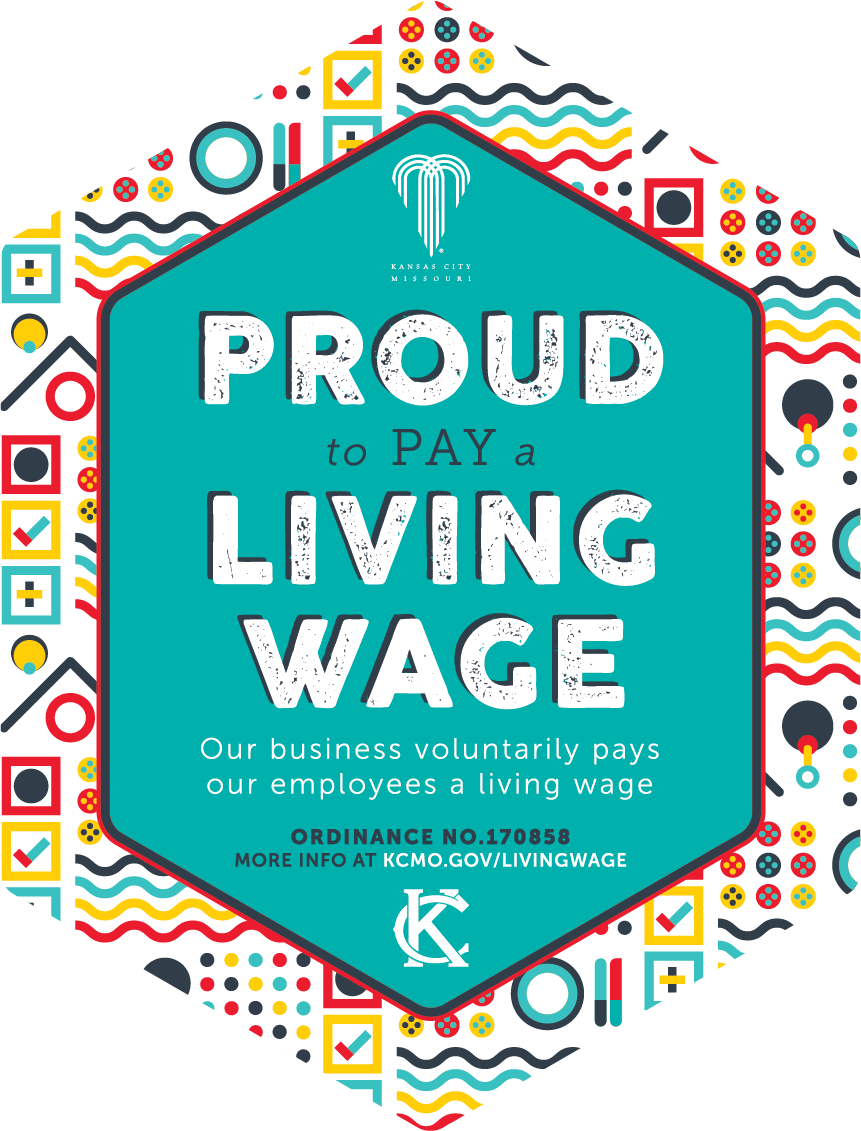 Proud to Pay Living Wage