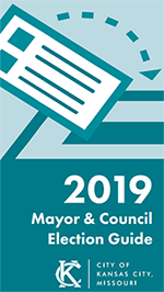Mayor Council Election Guide Brochure Cover