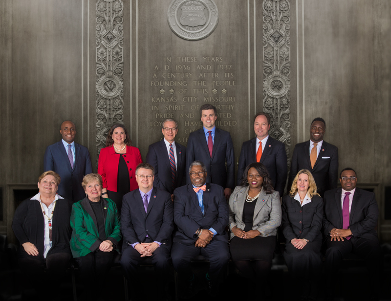 City Council Members Group Photo