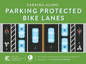 Parking Protected Bike Lanes